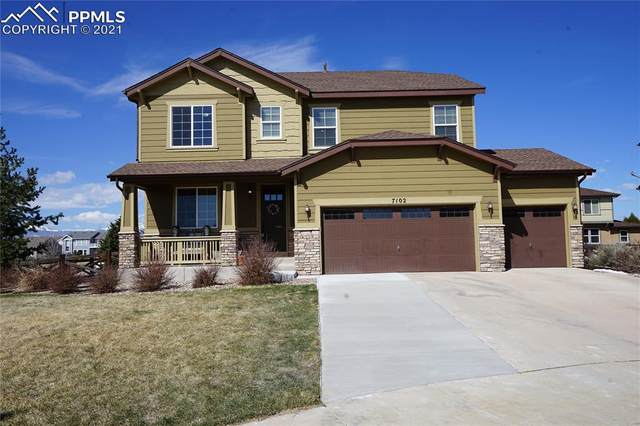 7102 Laurel Cherry Court, Colorado Springs, CO 80927 (#7861333) :: The Cutting Edge, Realtors