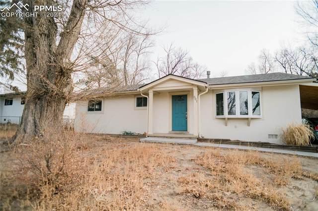 501 Ponderosa Drive, Colorado Springs, CO 80911 (#7982150) :: The Treasure Davis Team