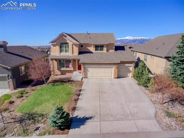 2415 Ledgewood Drive, Colorado Springs, CO 80921 (#8186212) :: The Hunstiger Team