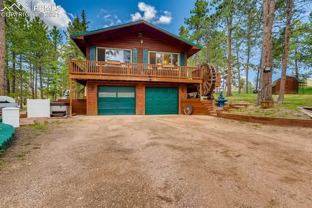 1902 Sunshine Circle, Woodland Park, CO 80863 (#8407103) :: Fisk Team, RE/MAX Properties, Inc.