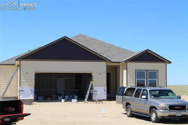 29927 Lonesome Dove Lane, Calhan, CO 80808 (#8572136) :: Tommy Daly Home Team