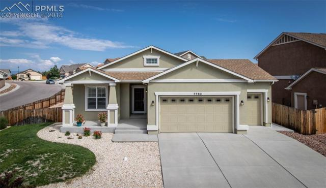 7783 Renegade Hill Drive, Colorado Springs, CO 80923 (#8686065) :: The Hunstiger Team