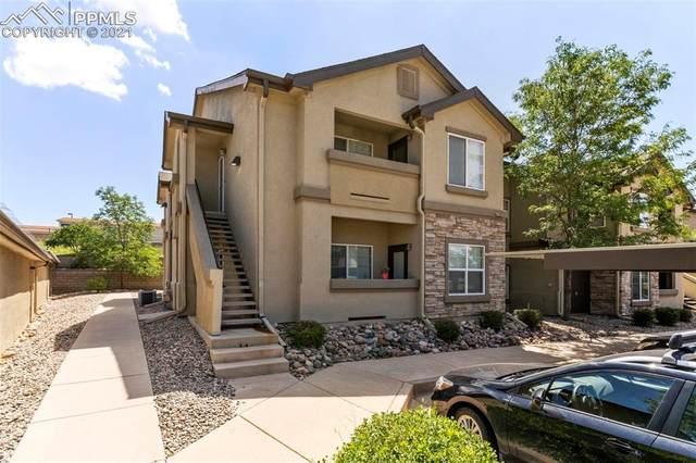 7124 Ash Creek Heights #102, Colorado Springs, CO 80922 (#8721140) :: Springs Home Team @ Keller Williams Partners
