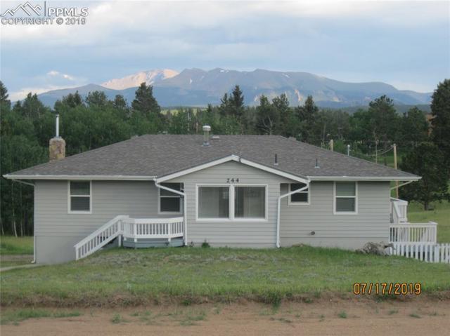 244 Pine Bluff Road, Divide, CO 80814 (#9162209) :: The Peak Properties Group