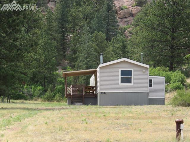 1574 Sioux Road, Florissant, CO 80816 (#9202494) :: The Hunstiger Team