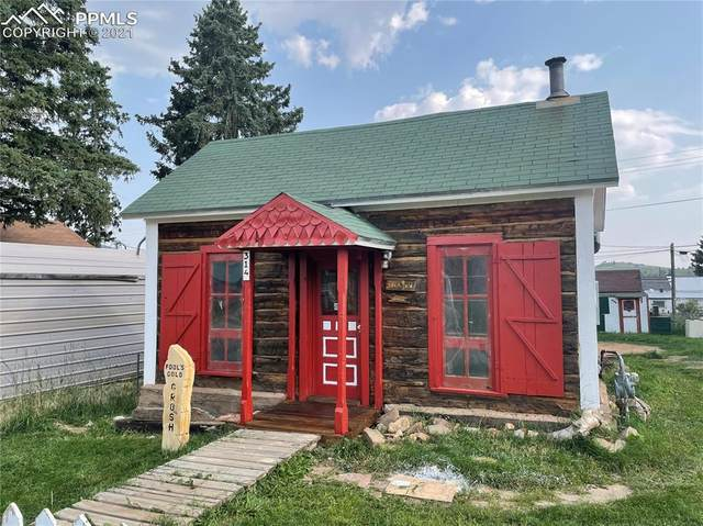 314 W Golden Avenue, Cripple Creek, CO 80813 (#9372359) :: Tommy Daly Home Team