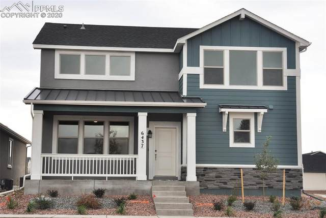 6437 Mustang Rim Drive, Colorado Springs, CO 80923 (#9428590) :: Tommy Daly Home Team