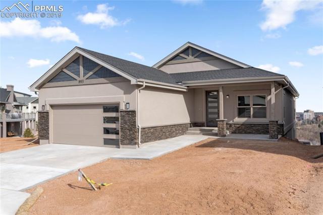 893 Uintah Bluffs Place, Colorado Springs, CO 80904 (#9535517) :: Fisk Team, RE/MAX Properties, Inc.