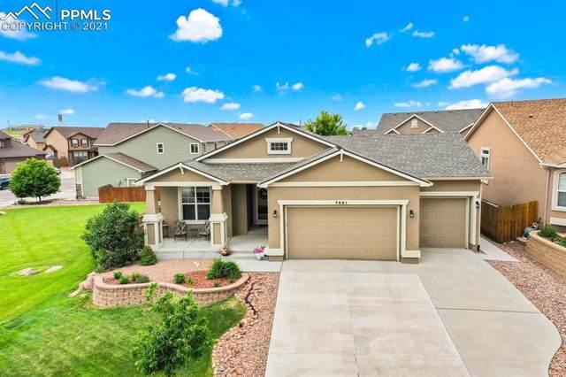 7651 Renegade Hill Drive, Colorado Springs, CO 80923 (#9577423) :: Action Team Realty