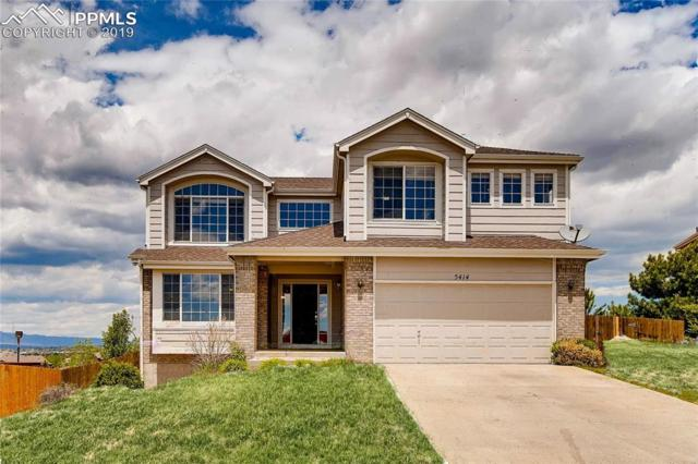 5414 Sunset Ridge Drive, Colorado Springs, CO 80917 (#9701690) :: Action Team Realty
