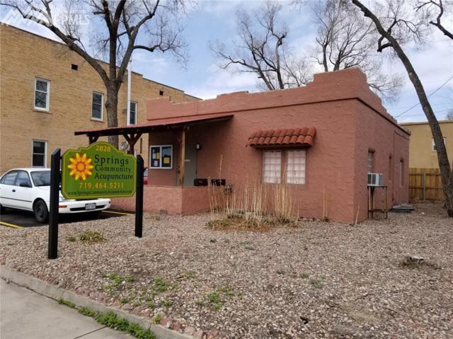2828 W Colorado Avenue, Colorado Springs, CO 80904 (#9909744) :: Jason Daniels & Associates at RE/MAX Millennium