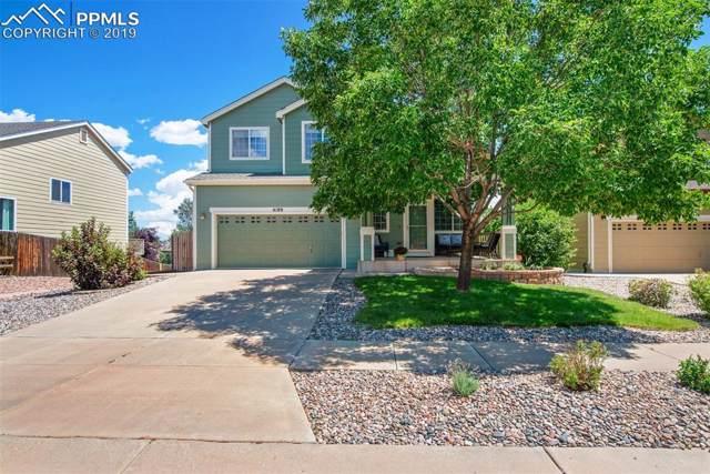 4189 Knollvale Drive, Colorado Springs, CO 80922 (#1342395) :: The Treasure Davis Team