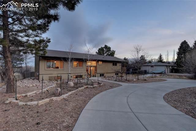2301 Comet Court, Colorado Springs, CO 80906 (#1459712) :: The Hunstiger Team