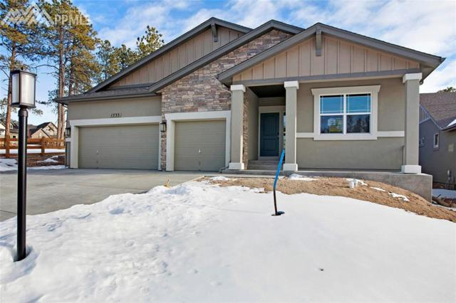 1733 Summerglow Lane, Monument, CO 80132 (#1641600) :: Jason Daniels & Associates at RE/MAX Millennium