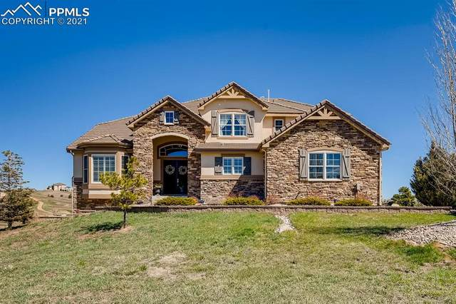1218 Castlecombe Lane, Monument, CO 80132 (#1826264) :: The Harling Team @ HomeSmart