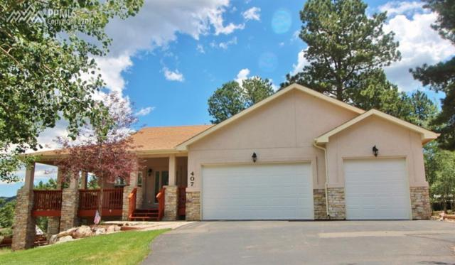 407 Karen Lane, Woodland Park, CO 80863 (#3698902) :: 8z Real Estate