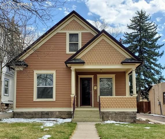 815 N Cedar Street, Colorado Springs, CO 80903 (#3701527) :: Venterra Real Estate LLC