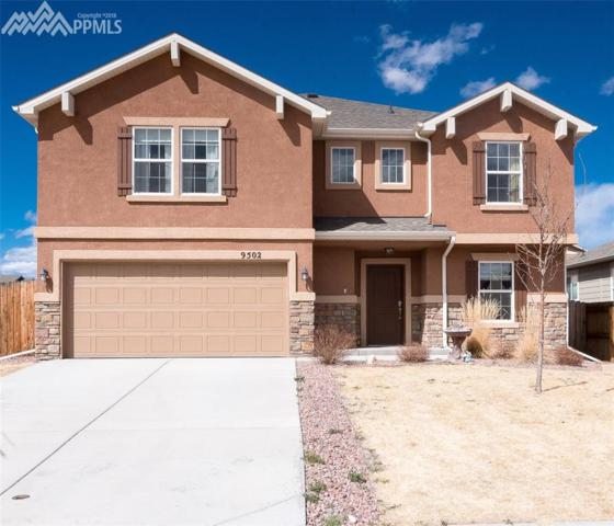 9502 Desert Lily Circle, Colorado Springs, CO 80925 (#3725162) :: Jason Daniels & Associates at RE/MAX Millennium