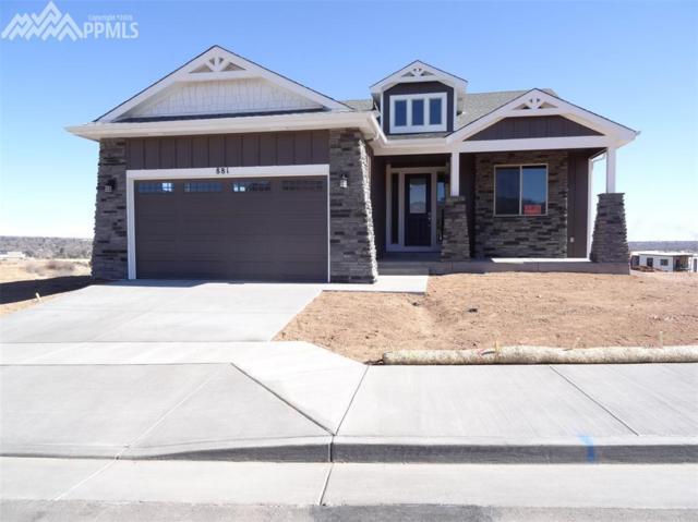 881 E Uintah Bluffs Place, Colorado Springs, CO 80903 (#3788653) :: 8z Real Estate