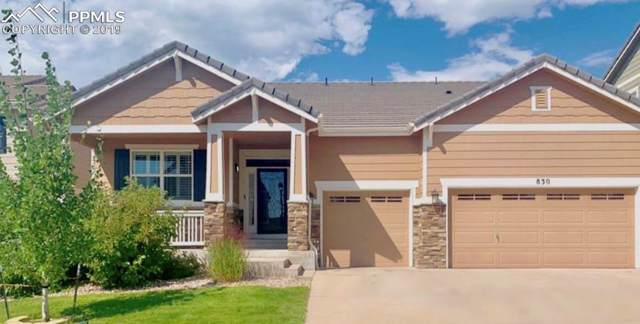 830 Spectrum Loop, Colorado Springs, CO 80921 (#3936943) :: The Daniels Team