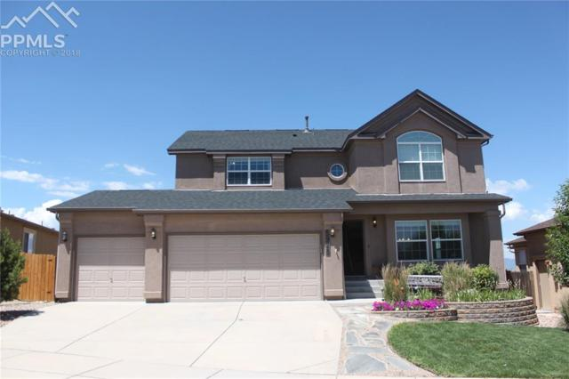 5928 Cumbre Vista Way, Colorado Springs, CO 80924 (#3947263) :: The Treasure Davis Team