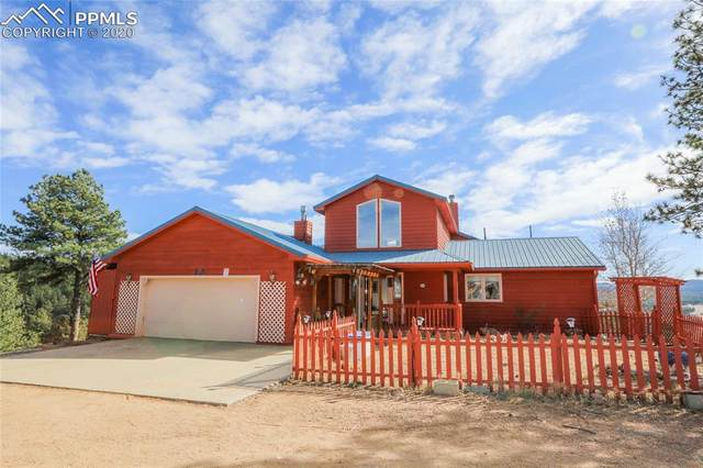 1053 Circle Drive, Florissant, CO 80816 (#4774378) :: Finch & Gable Real Estate Co.