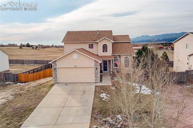 847 Circle Road, Palmer Lake, CO 80133 (#4921652) :: Tommy Daly Home Team