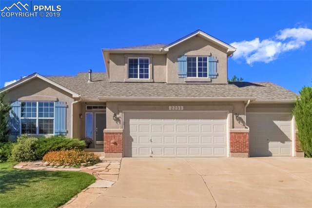 2251 Fieldcrest Drive, Colorado Springs, CO 80921 (#6543100) :: Venterra Real Estate LLC
