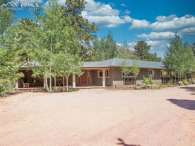 9005 Ute Road, Cascade, CO 80809 (#7513074) :: Action Team Realty
