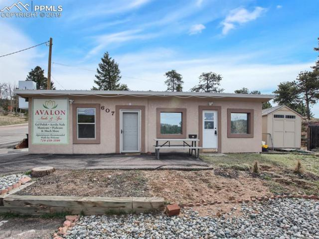 607 S Baldwin Street, Woodland Park, CO 80863 (#7645965) :: Venterra Real Estate LLC