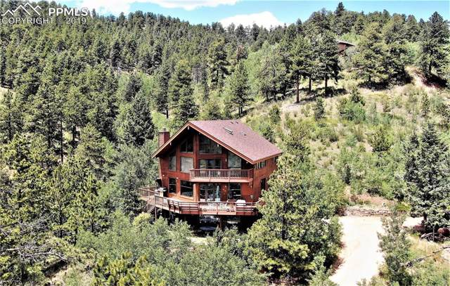 9450 Canyon Drive, Green Mountain Falls, CO 80819 (#7883523) :: The Treasure Davis Team