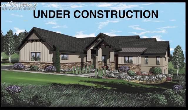 3640 Blue Heron Spring Lane, Colorado Springs, CO 80908 (#8111328) :: The Kibler Group