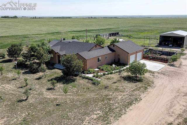 4215 Bar 10 Road, Calhan, CO 80808 (#9471529) :: Tommy Daly Home Team
