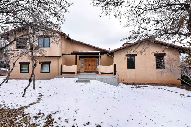 205 Rangely Drive, Colorado Springs, CO 80921 (#9546141) :: The Hunstiger Team