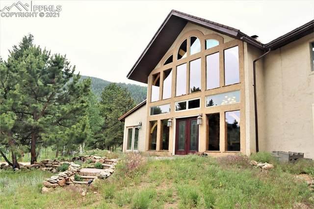 1600 Pulver Road, Lake George, CO 80827 (#5452240) :: Venterra Real Estate LLC