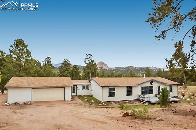 1058 Hackamore Drive, Florissant, CO 80816 (#6422754) :: The Treasure Davis Team