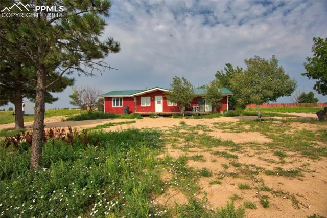 1342 S East Ellicott Road, Calhan, CO 80808 (#7450838) :: Colorado Home Finder Realty