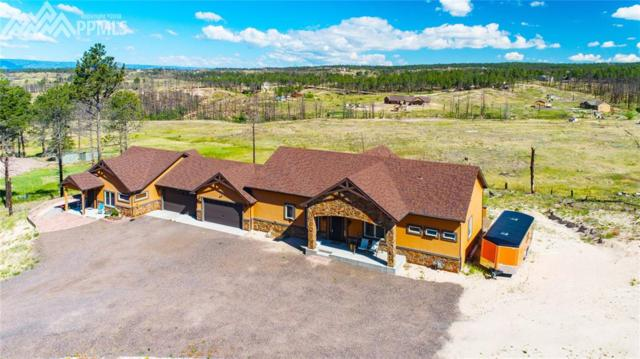 6610 Trappers Pass Trail, Colorado Springs, CO 80908 (#7617360) :: The Hunstiger Team