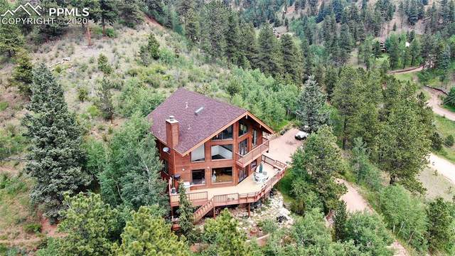 9450 Canyon Drive, Green Mountain Falls, CO 80819 (#7883523) :: Finch & Gable Real Estate Co.
