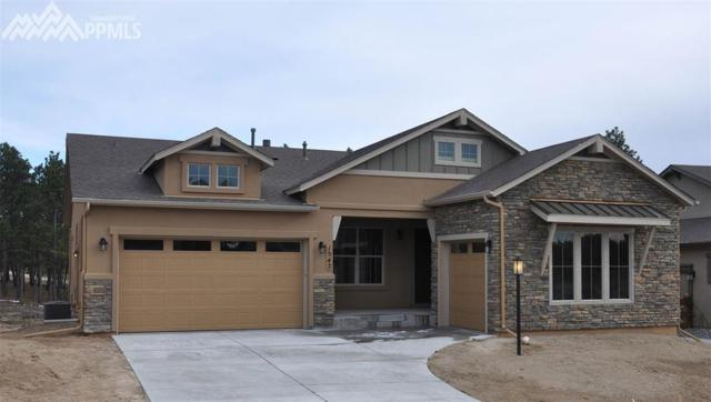 1542 Summerglow Lane, Monument, CO 80132 (#9208851) :: Jason Daniels & Associates at RE/MAX Millennium