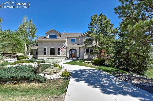 250 Lost Creek Way, Monument, CO 80132 (#9468134) :: Finch & Gable Real Estate Co.