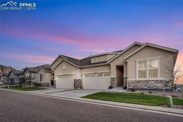 1514 Promontory Bluff View, Colorado Springs, CO 80921 (#9977674) :: The Kibler Group