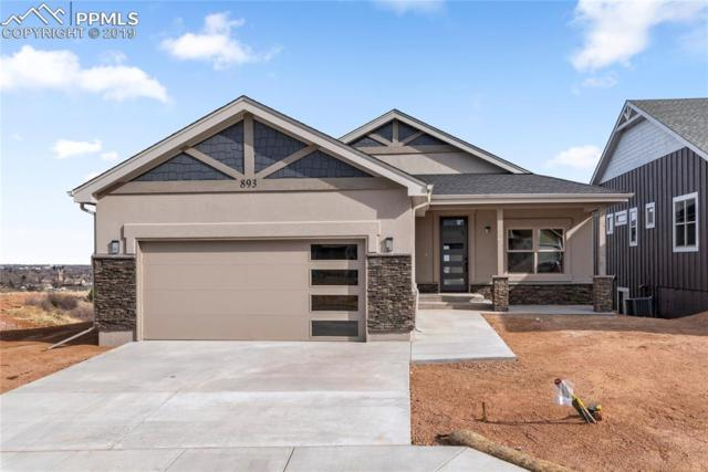 893 Uintah Bluffs Place, Colorado Springs, CO 80904 (#9985207) :: Action Team Realty
