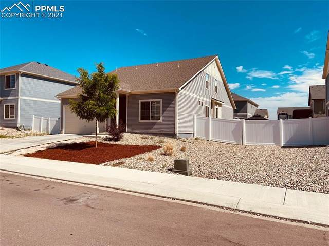 7838 Whistlestop Lane, Fountain, CO 80817 (#2983522) :: Tommy Daly Home Team