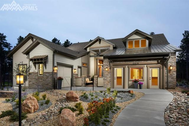 1670 Summerglow Lane, Monument, CO 80132 (#3528886) :: The Hunstiger Team