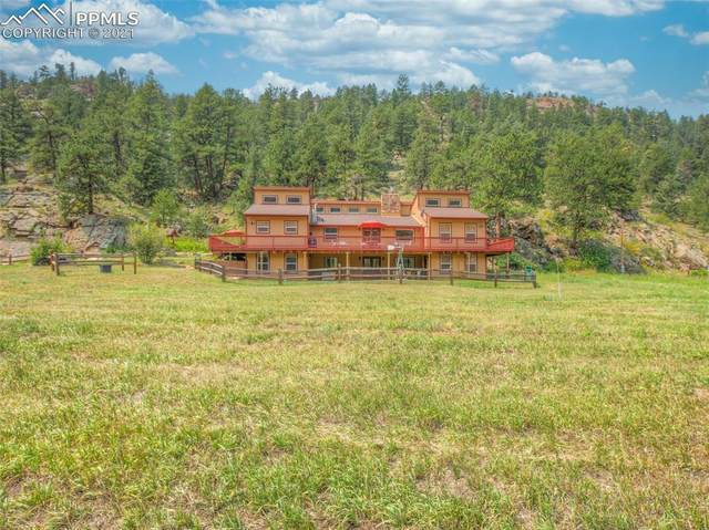 2560 Lakemoor Drive, Florissant, CO 80816 (#4066583) :: Tommy Daly Home Team