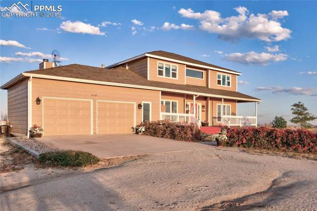 11125 Eureka Road, Calhan, CO 80808 (#3696377) :: Tommy Daly Home Team