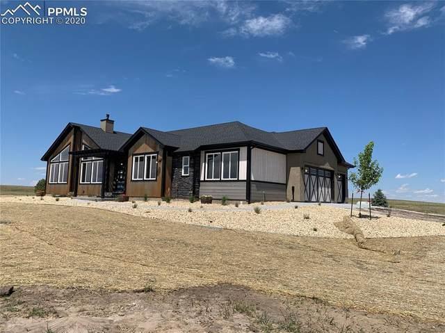 7589 Buckskin Ranch View, Peyton, CO 80831 (#5193902) :: Finch & Gable Real Estate Co.