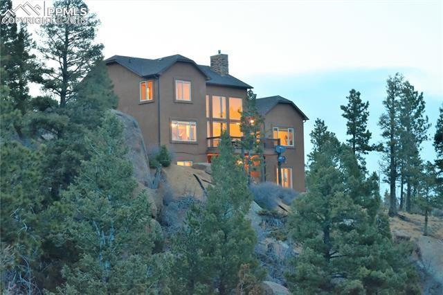 2075 Deer Mountain Road, Manitou Springs, CO 80829 (#1236114) :: The Treasure Davis Team
