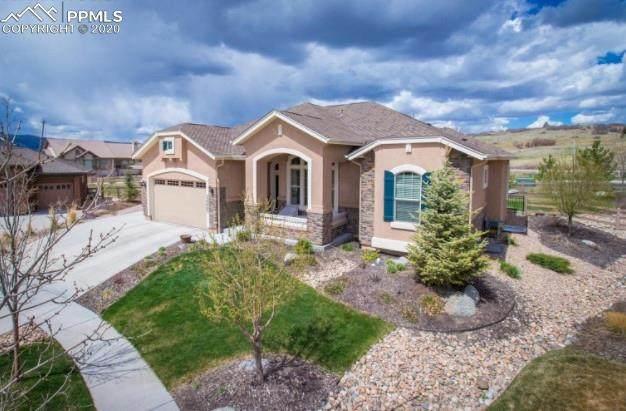 13256 Cedarville Way, Colorado Springs, CO 80921 (#1267609) :: The Treasure Davis Team